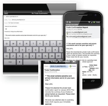 Voltage SecureMail Mobile Edition | SecureMailWorks.com